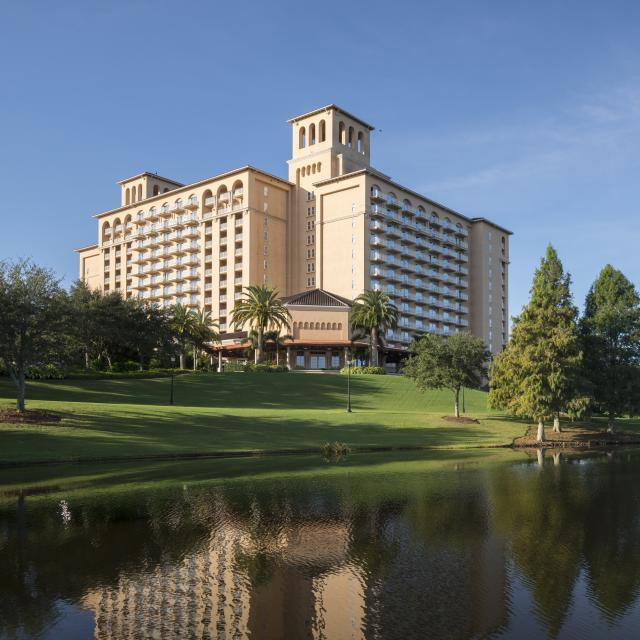 The Ritz-Carlton Orlando, Grande Lakes hotel exterior and water