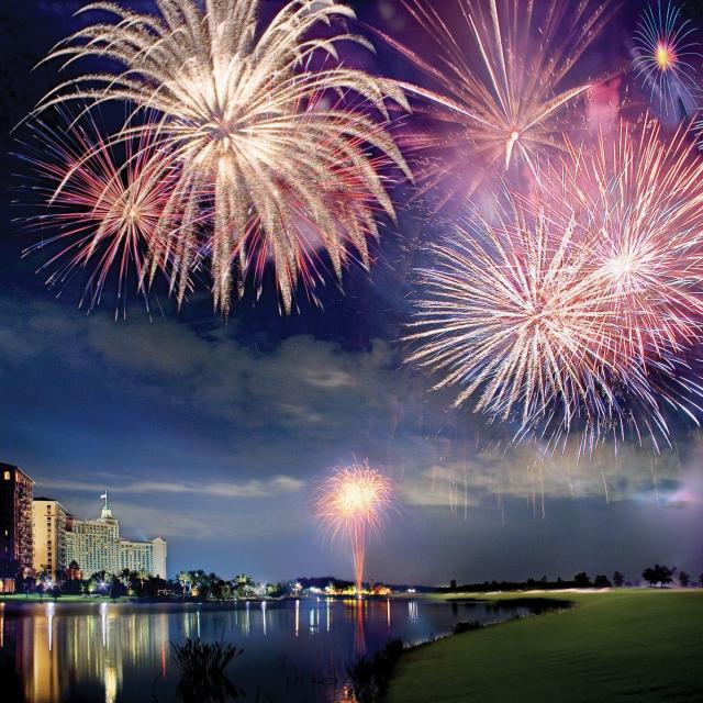 The Ritz-Carlton Orlando, Grande Lakes fireworks at Grande Lakes Orlando
