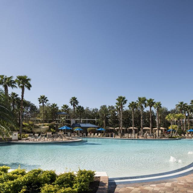 Hyatt Regency Orlando hotel swimming pool