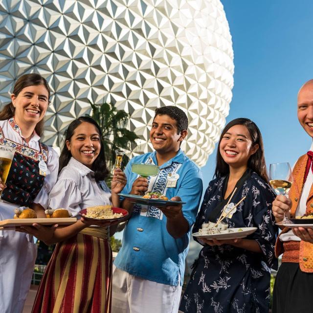 The Epcot International Food & Wine Festival Aug. 29-Nov. 19, 2019