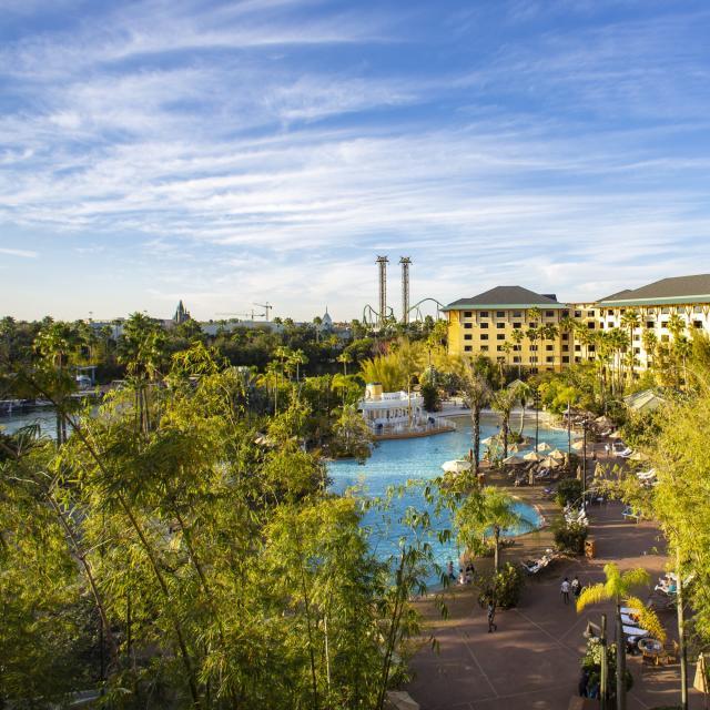 Loews Royal Pacific Resort at Universal OrlandoTM exterior