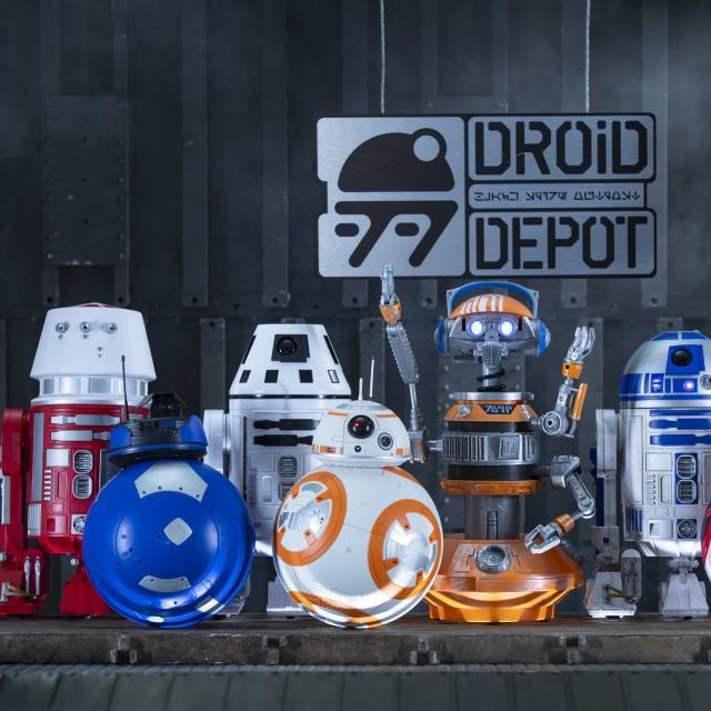 Droid Depot at Star Wars: Galaxy's Edge at Disney's Hollywood Studios