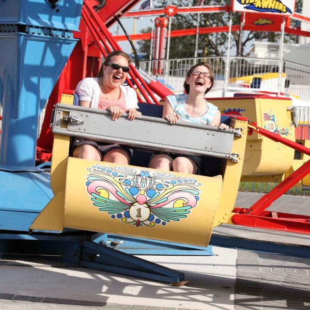 Fun Spot Scrambler ride