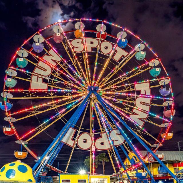 Ferris Wheel at Fun Spot America Theme Parks Orlando