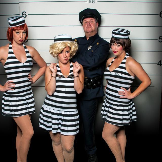 Capone's Dinner & Show jailbirds