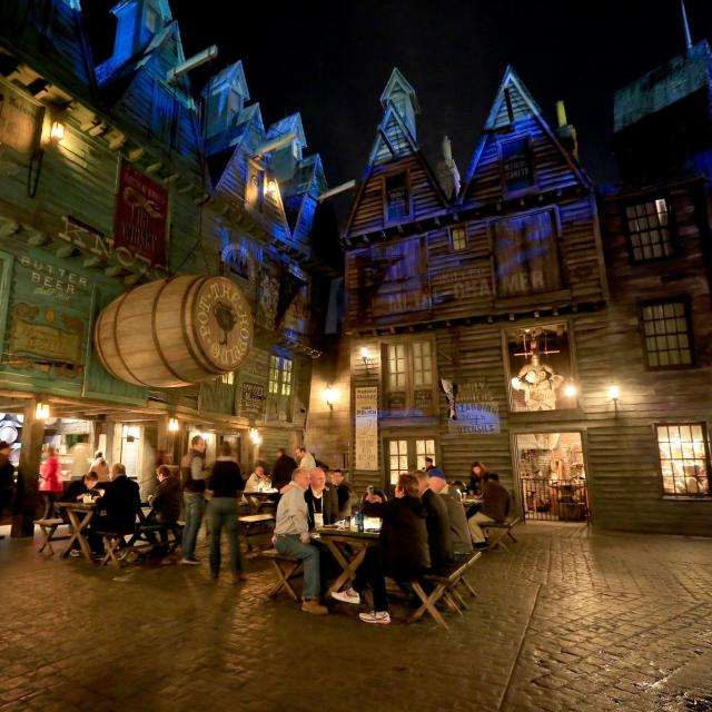 private group event at Diagon Alley Universal Studios