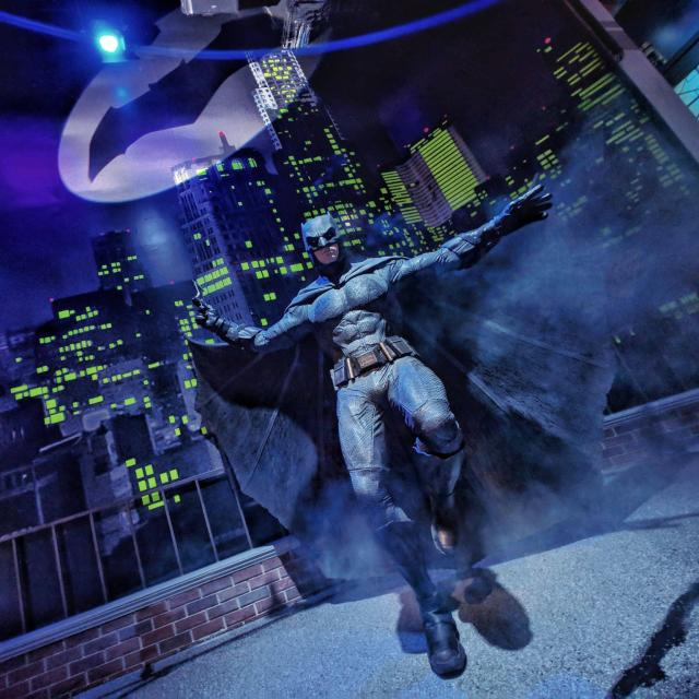Batman at Madame Tussauds