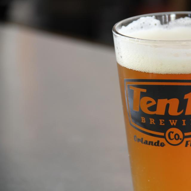 Ten10 Brewing Company offers craft beer, food and tours located in the Mills 50 District of Orlando.