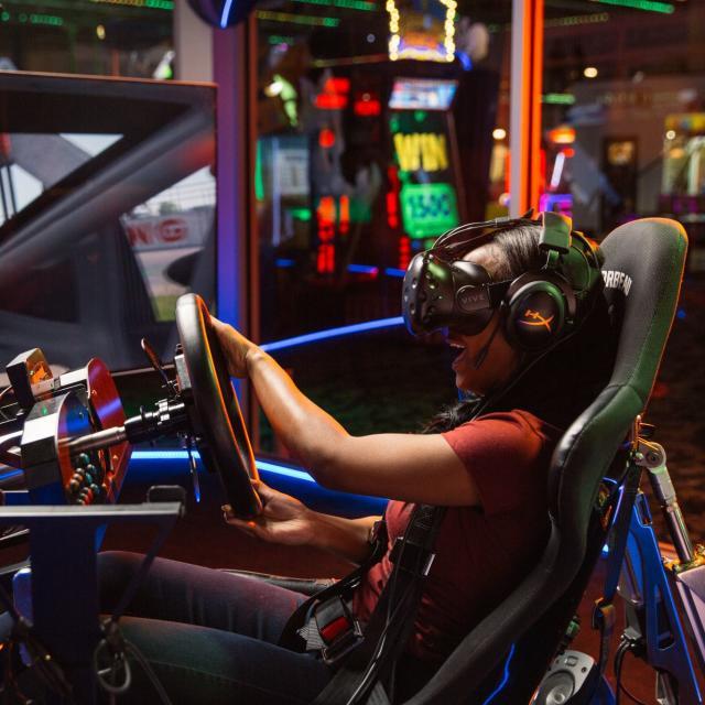 Andretti Indoor Karting & Games VR Simulator driving