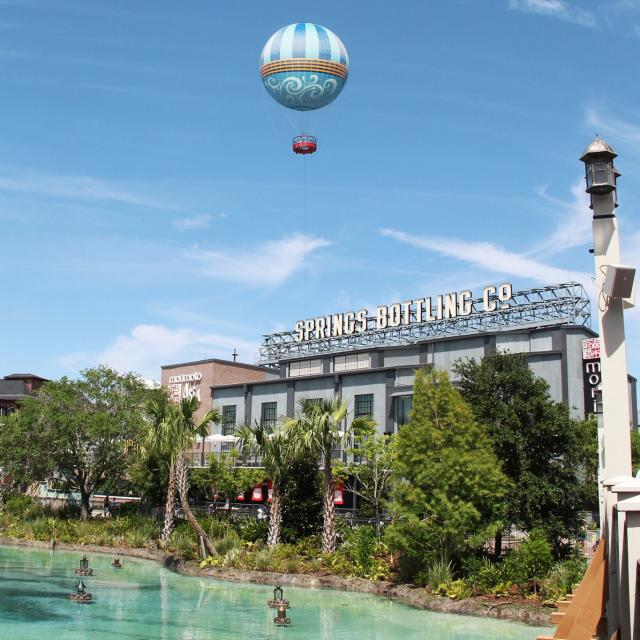 Overview of restaurants at Disney Springs