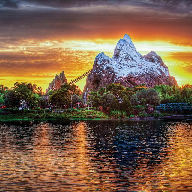 Expedition Everest ride at Disney's Animal Kingdom Theme Park