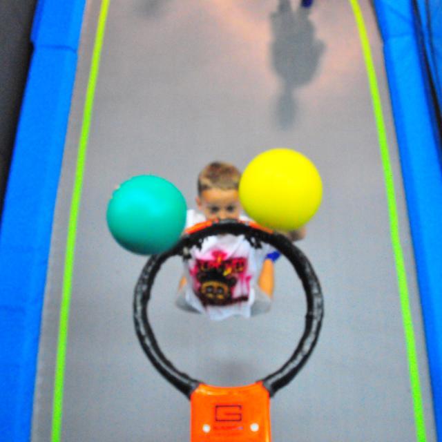 Jump Start Trampoline Park at Dezerland Park Orlando basket