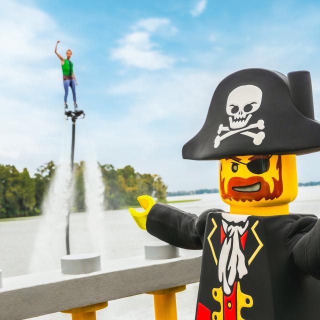 Brickbeard Stunt Show at Pirates' Cove in LEGOLAND® Florida Resort