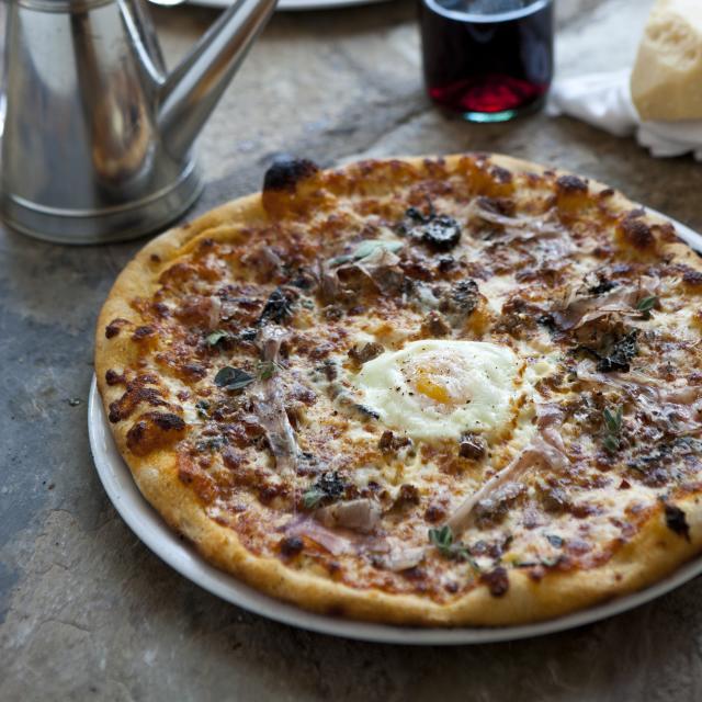 Prato pizzas