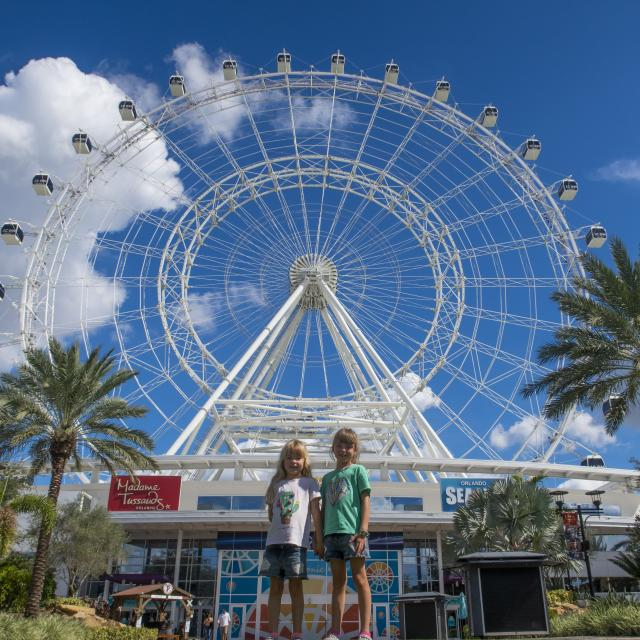 Influencer Katie Ellison and her family visit ICON Orlando