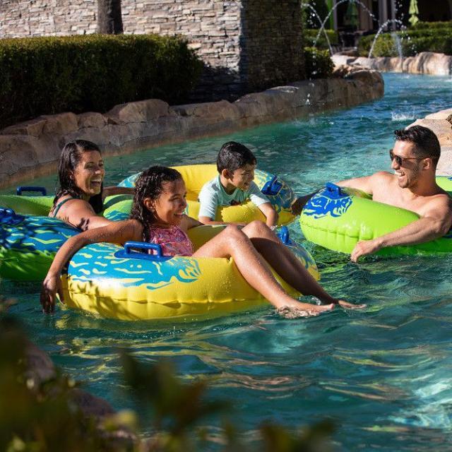 Hilton Orlando Bonnet Creek family in lazy river