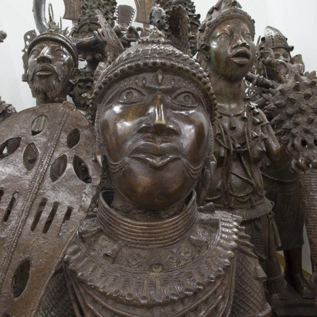 Bronze Kingdom, African Art Gallery statues