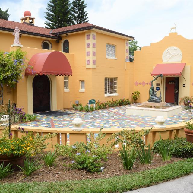 Albin Polasek Museum & Sculpture Gardens museum front