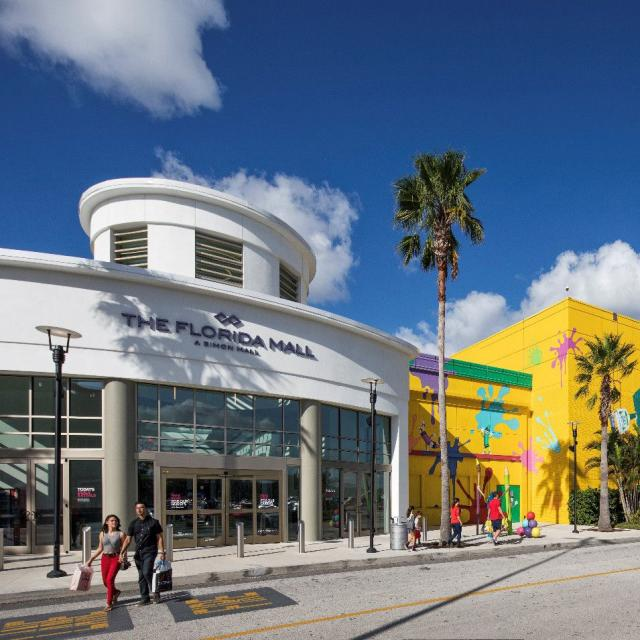 The Florida Mall exterior Crayola