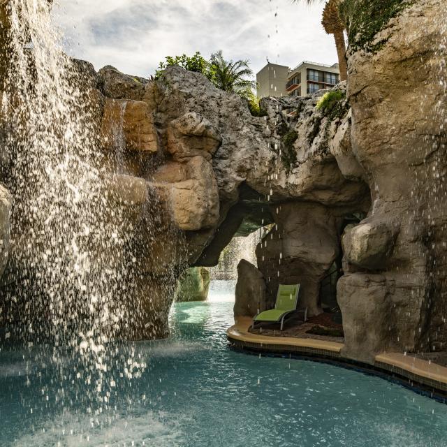 Hyatt Regency Grand Cypress grotto
