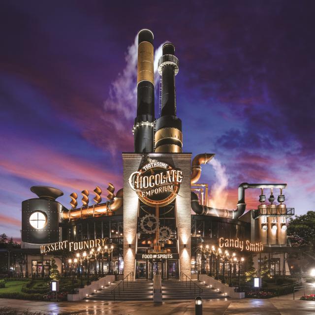 Universal CityWalk Toothsome Chocolate Emporium
