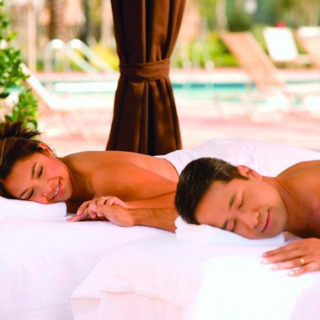 The Spa at Shingle Creek, couples massage