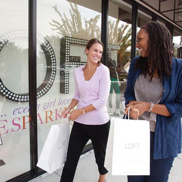 Lake Buena Vista Factory Stores ladies shopping