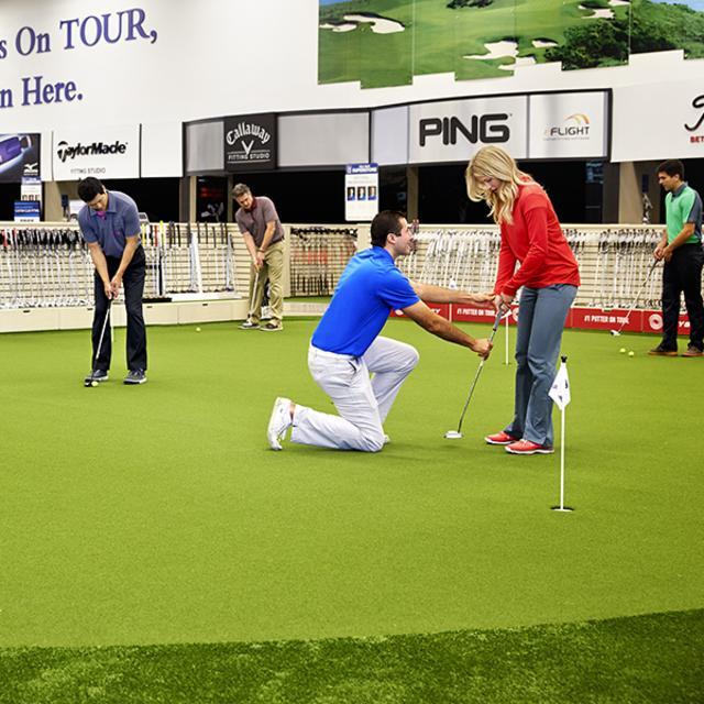 PGA TOUR Superstore putting lessons