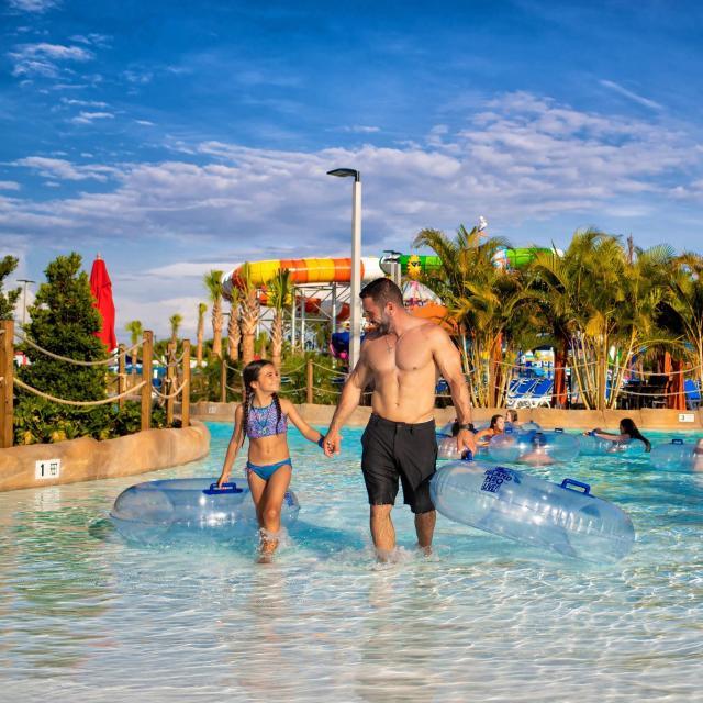 Chat Creek Lazy River at Island H2O Live at Margaritaville Orlando Resort