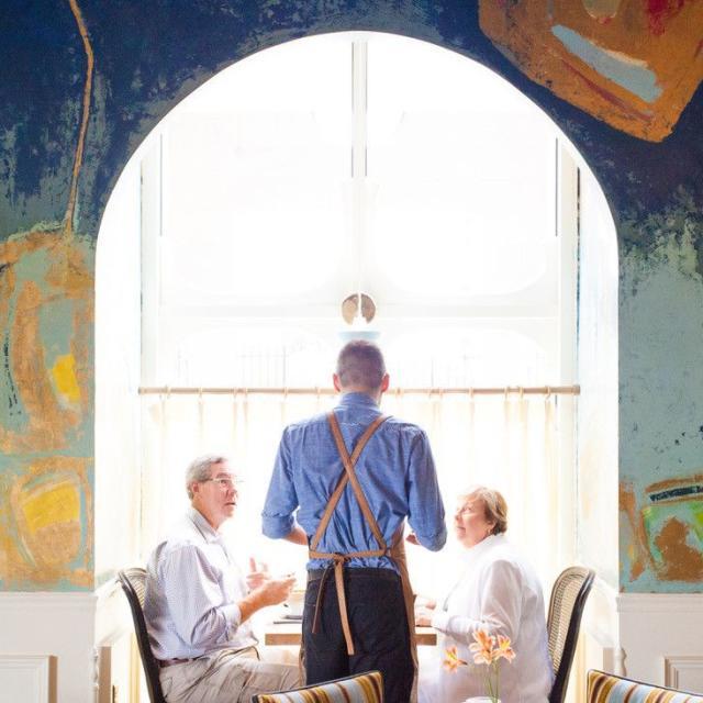 DoveCote Brasserie server