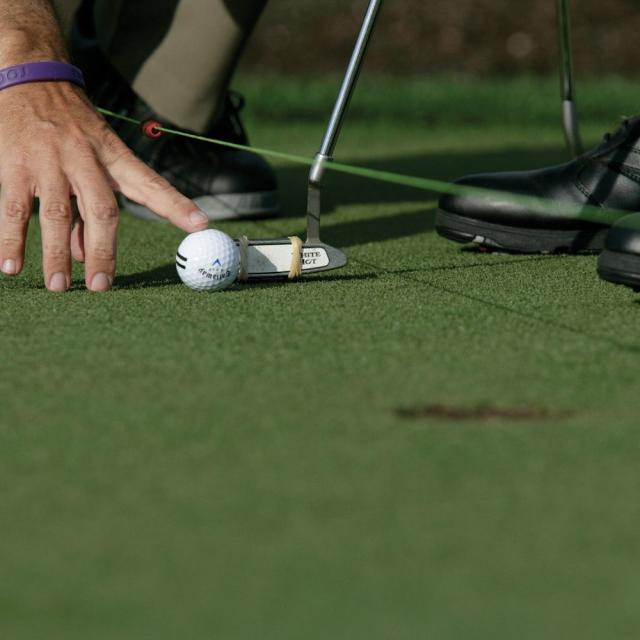 Arnold Palmer Golf Academy ball alignment