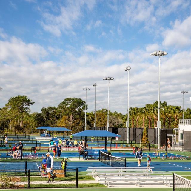 USTA National Campus hard courts