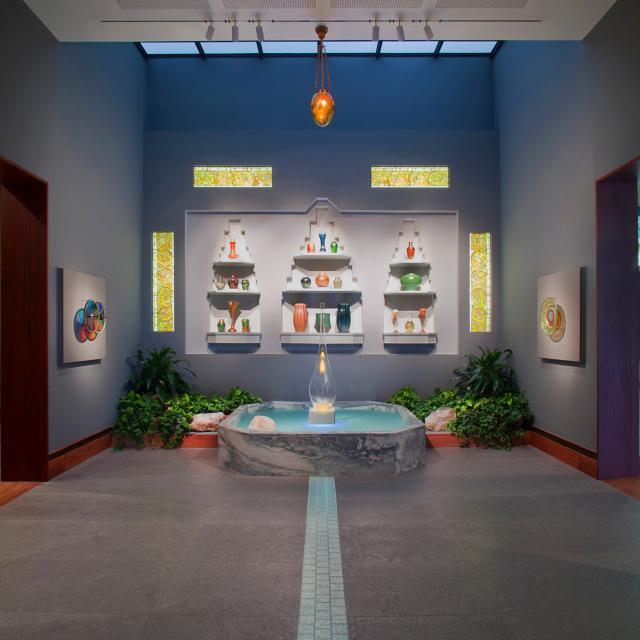 The Charles Hosmer Morse Museum of American Art Laurelton Hall reception