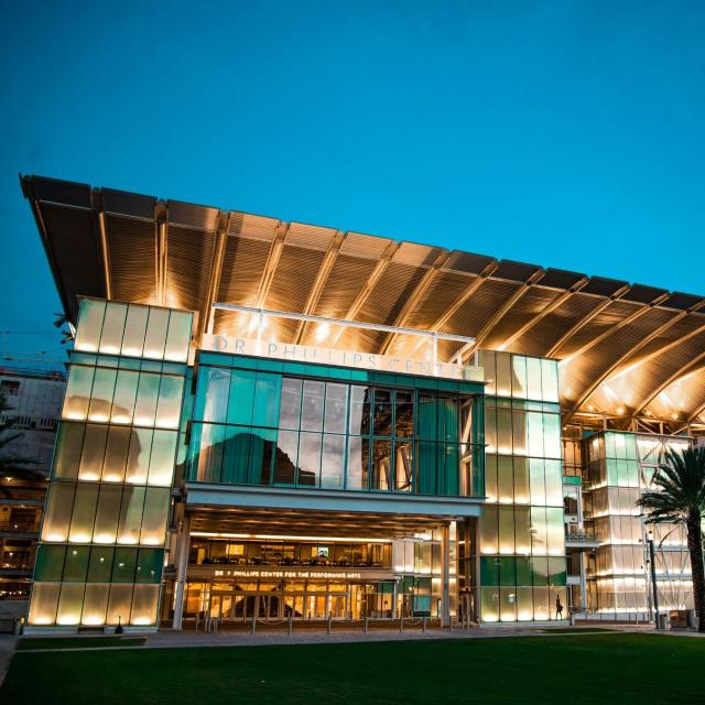 Dr. Phillips Center for the Performing Arts exterior plaza