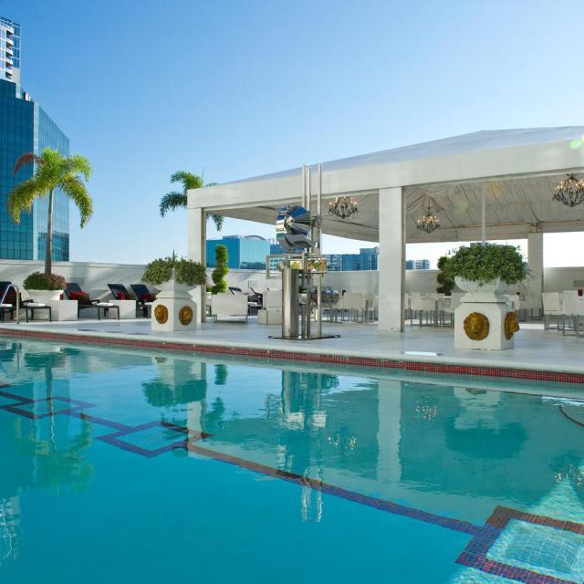 Grand Bohemian Hotel swimming pool