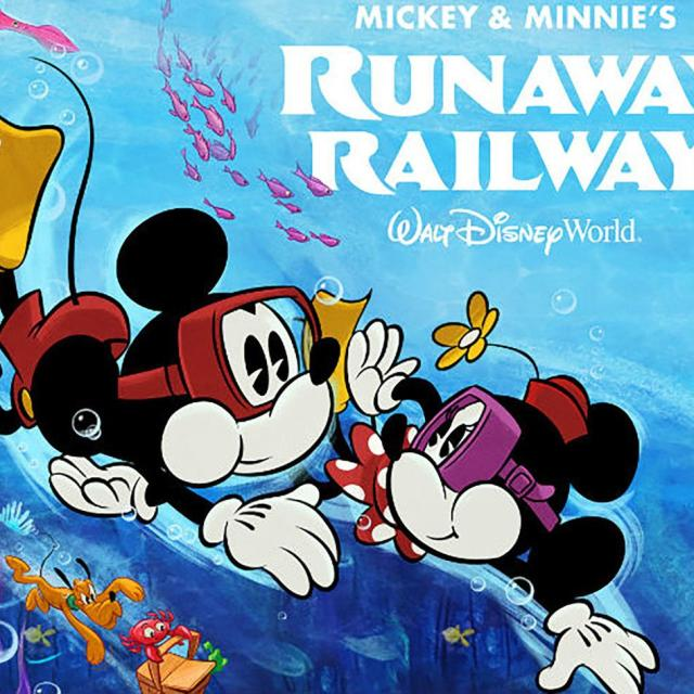 Mickey & Minnie's Runaway Railway at Disney's Hollywood Studios