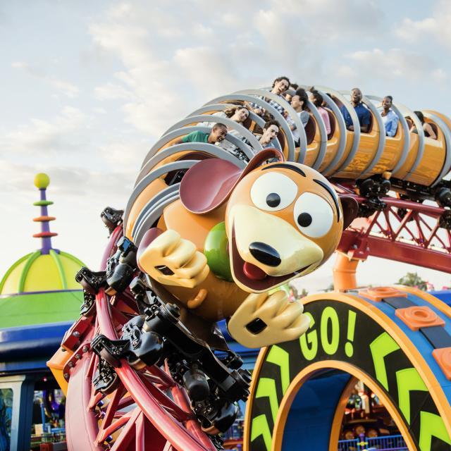 Slinky Dog Dash at Disney's Hollywood Studios
