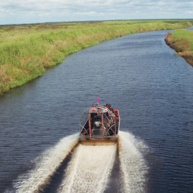 Airboat Rides at Midway airboat overview