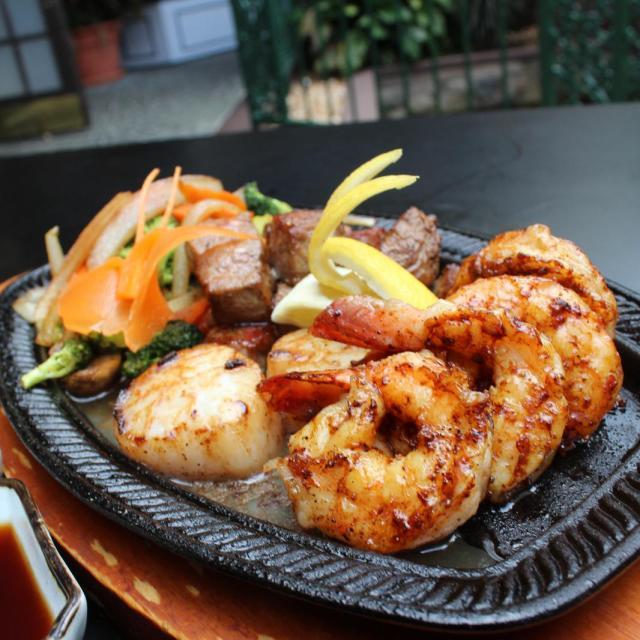 Nagoya Sushi - Dr Phillips meal shrimp scallops
