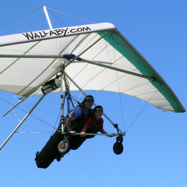 Wallaby Ranch Hang Gliding Flight Park tandem