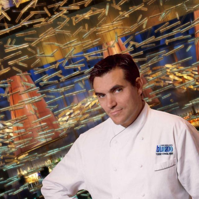 Headshot of Chef Todd English of Todd' English's bluezoo