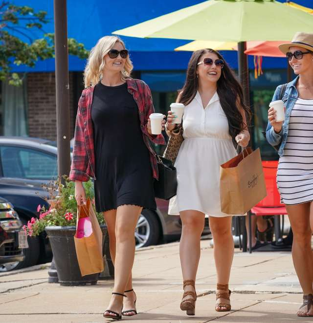 Downtown Shopping Friends