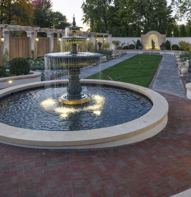 Paine Formal Garden Fountain