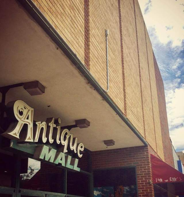 Antique Mall in Downtown Lawrence Kansas
