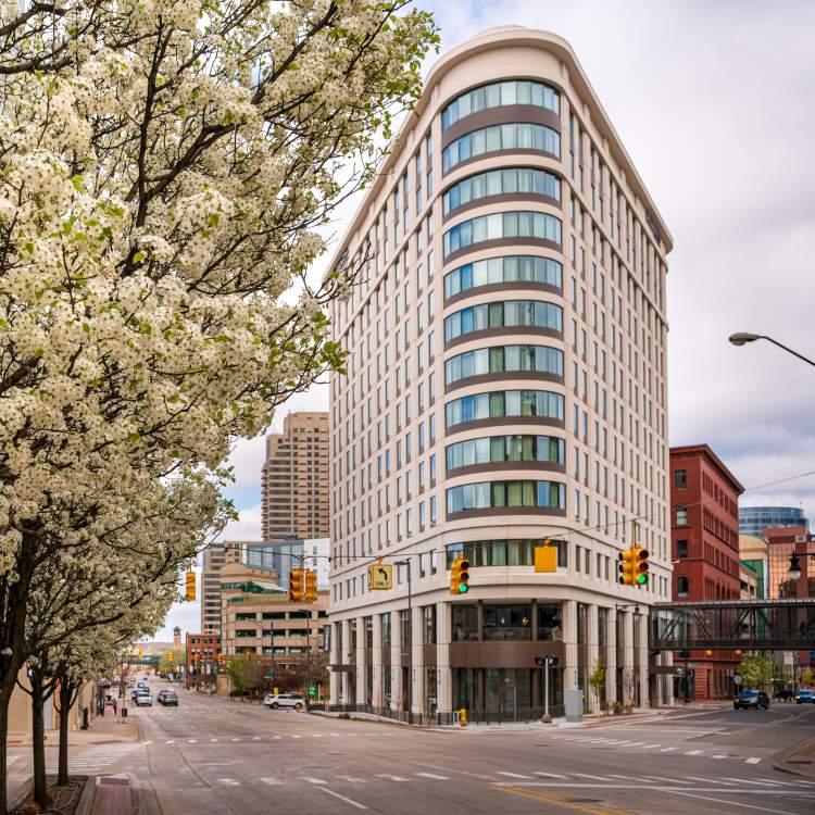 Residence Inn - Facing West in Spring.