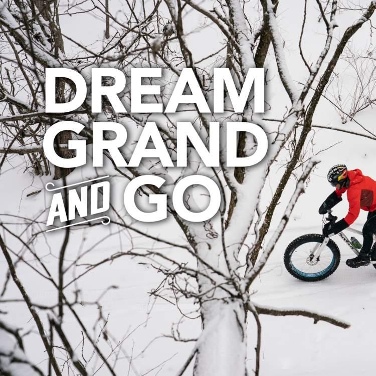 梦想宏大和去胖轮胎自行车