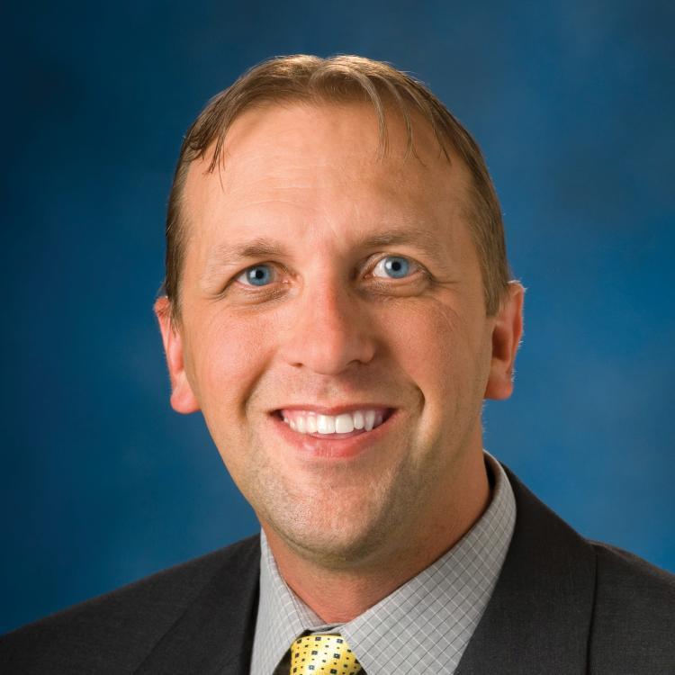 Headshot of Keith Swider, Visit Orlando, Vice President of Business Affairs