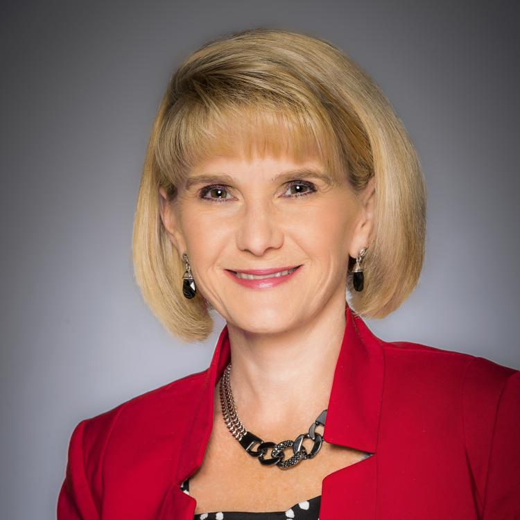 Headshot of Stephanie Naegele, Vice President of Sales Operations, Convention Sales