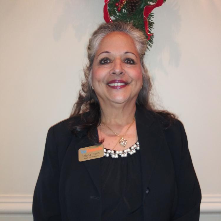 Headshot for 2021 Visit Orlando Board of Director Diana M. Font, President, DMFont Events