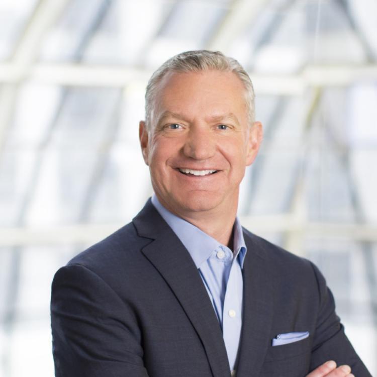 Headshot of Mike Waterman, Visit Orlando, Chief Sales Officer